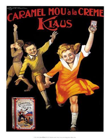 Caramel Klaus Art Print