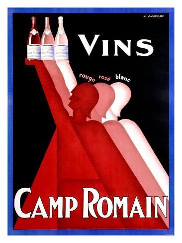 Camp Romain Giclee Print