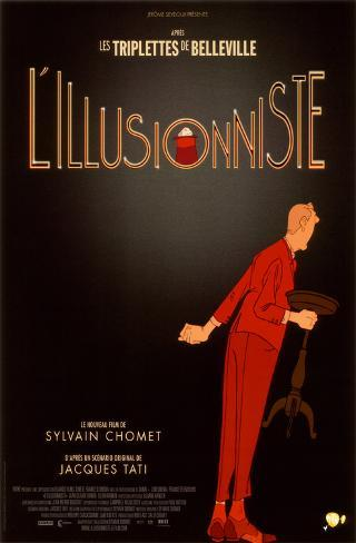 L'Illusionniste - French Style Masterprint