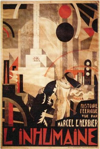 L'Inhumaine - Foreign Style Poster