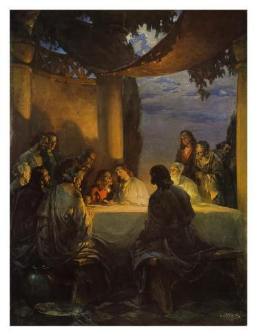 The Lords Supper Art Print