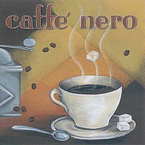 Caffe Nero Framed Art Print