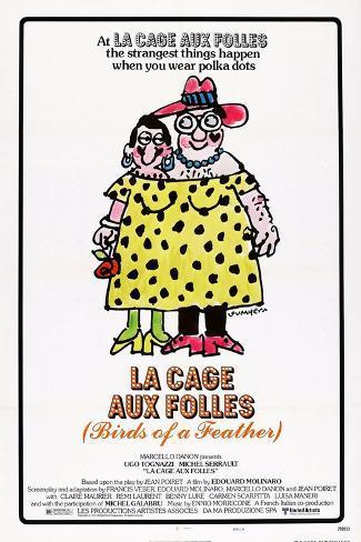 La Cage Aux Folles, 1978 Art Print