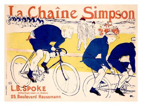 La Chaine Simpson Giclee Print