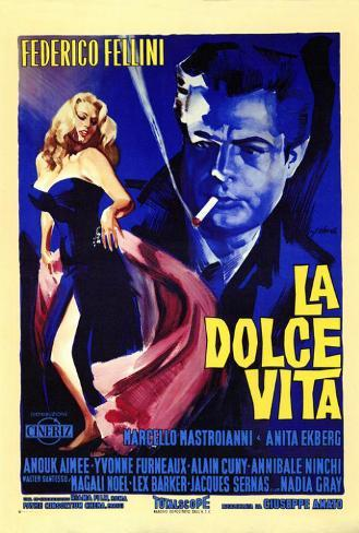 La Dolce Vita - Italian Style Poster
