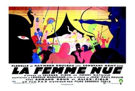 La Femme Nue Art Print