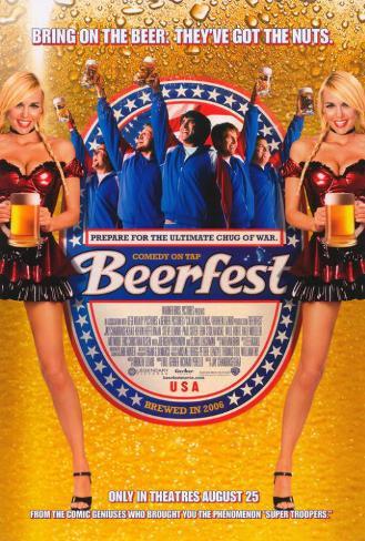 La fiesta de la Cerveza Póster