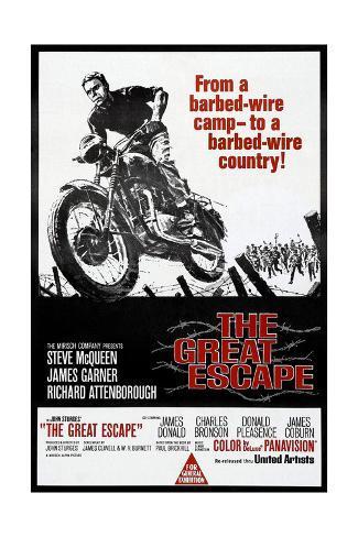 La gran evasión, Steve McQueen, 1963 Lámina