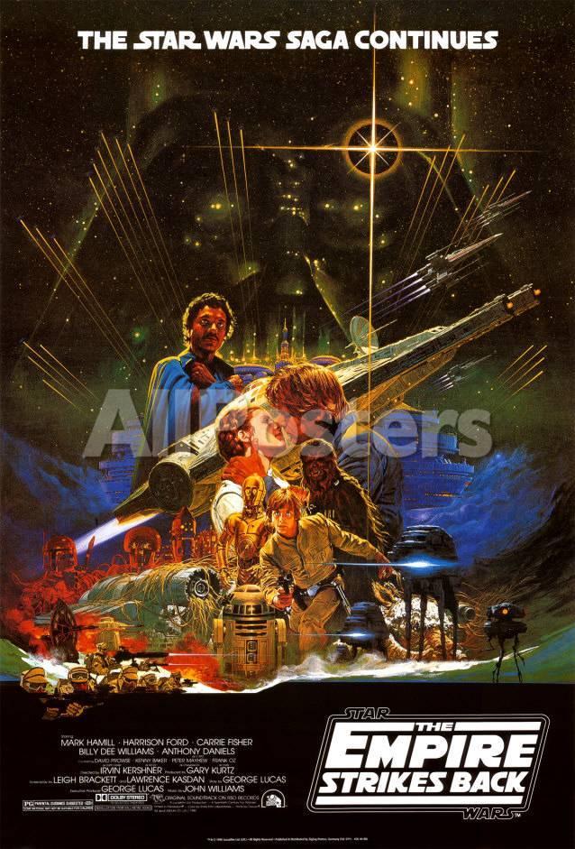 La guerra de las galaxias - El imperio contraataca, Star Wars ...