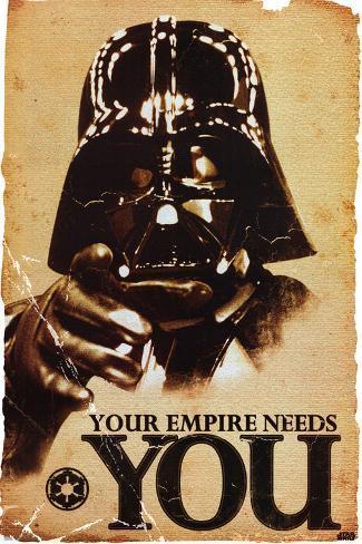 LA GUERRA DE LAS GALAXIAS - El Imperio te necesita Póster