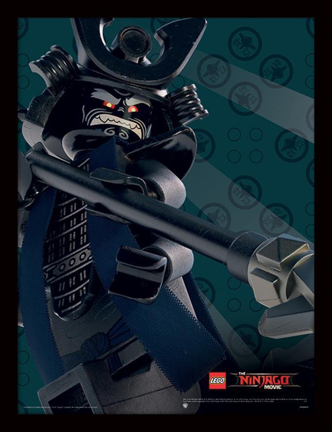 La LEGO Ninjago película - Garmadon Lámina de coleccionista en ...