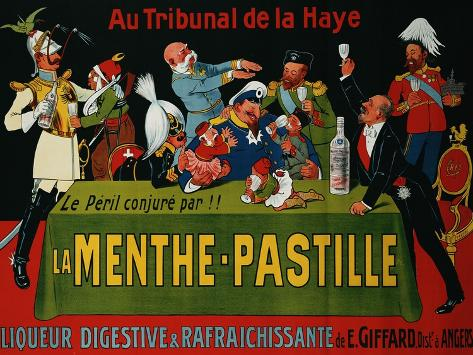 La Menthe-Pastille, circa 1905 Giclee Print