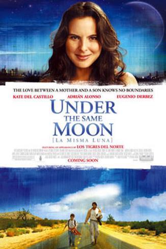 La misma luna|Under the Same Moon Póster de dos caras
