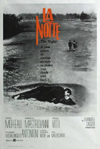 La Notte - French Style Poster