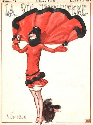 La Vie Parisienne, Art Deco Magazine, France, 1927 Giclee Print