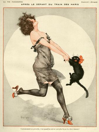 La Vie Parisienne C Herouard 1923 France Giclee Print