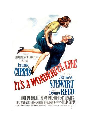 La vita è meravigliosa, Donna Reed, James Stewart, 1946 Foto