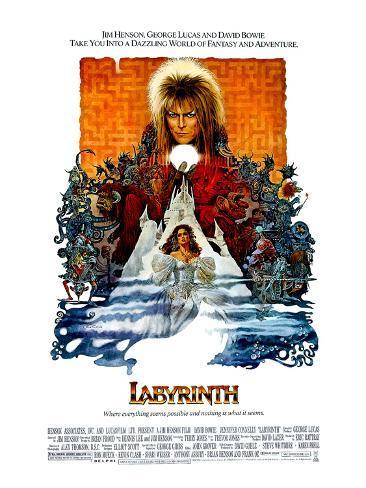 Labyrinth, David Bowie, Jennifer Connelly, 1986 Photo