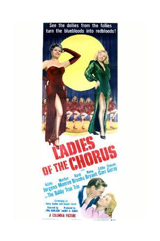 Ladies of the Chorus - Movie Poster Reproduction Premium Giclee Print