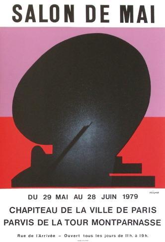 Expo salon de mai collectable print by ladislas kijno for Salon de mai