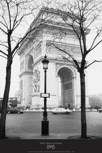 Place Charles de Gaulle Art Print
