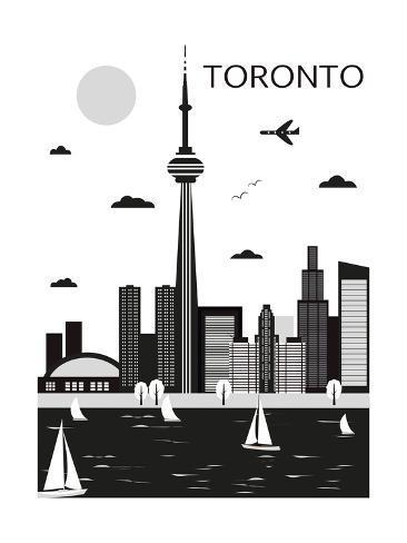 Toronto canada vector