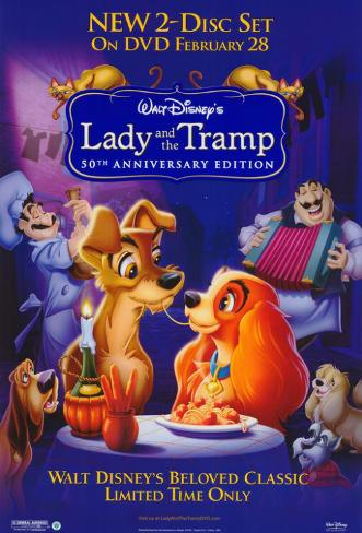 Lady and the Tramp Masterprint