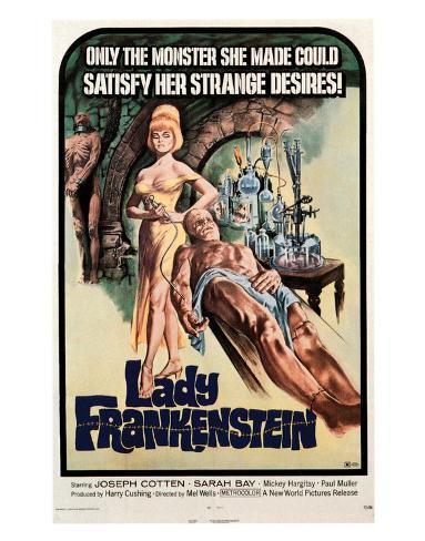 Lady Frankenstein - 1971 Giclee Print