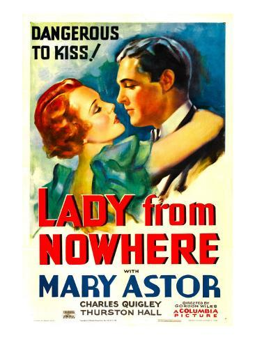 Lady from Nowhere, Mary Astor, Charles Quigley, 1933 Foto