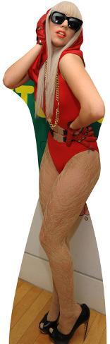 Lady Gaga Lifesize Standup Poster Stand Up