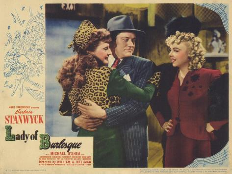 Lady of Burlesque, 1943 Konstprint