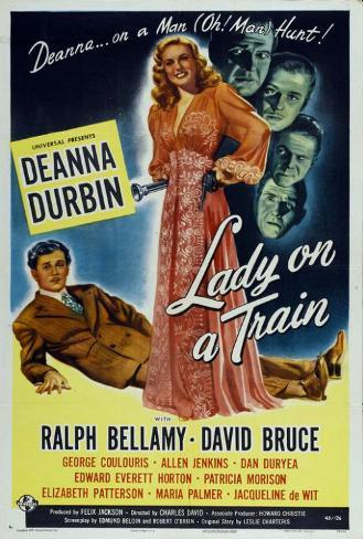 Lady on a Train Poster