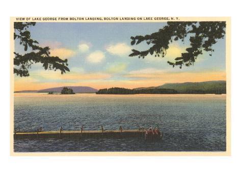 Lake George, New York Art Print