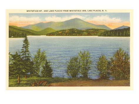 Lake Placid, New York Art Print