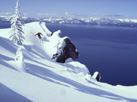 Lake Tahoe, California, USA Photographic Print