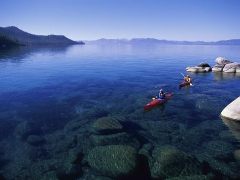Lake Tahoe, Nevada, USA Photographic Print