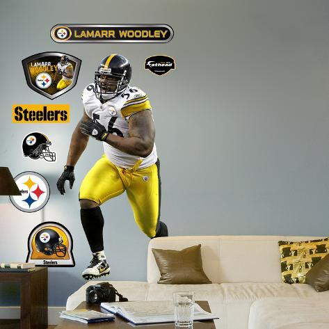 LaMarr Woodley Wall Decal