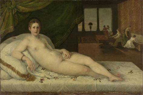 Reclining Venus Art Print