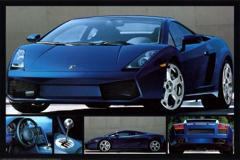 Lamborghini Gallardo Poster