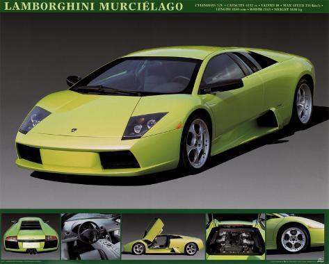 Lamborghini Murcielago L 225 Mina En Allposters Es