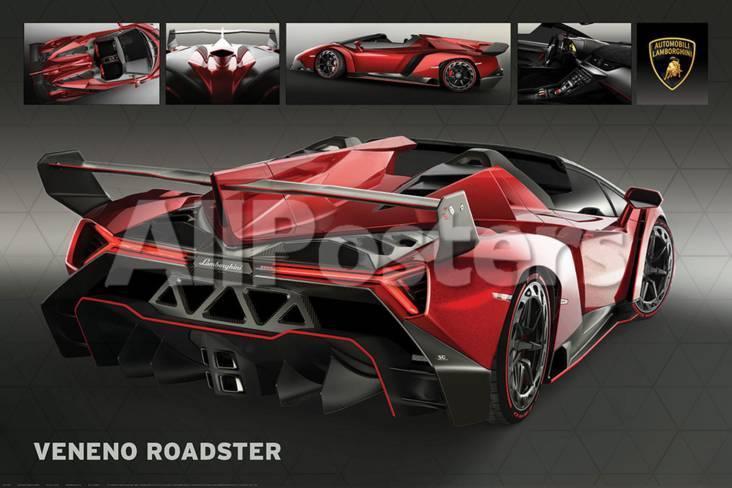 Lamborghini Veneno Roadster Posters At Allposters Com