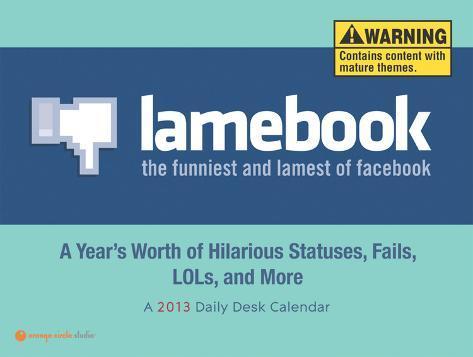 Lamebook - 2013 Daily Desk Calendar Calendars