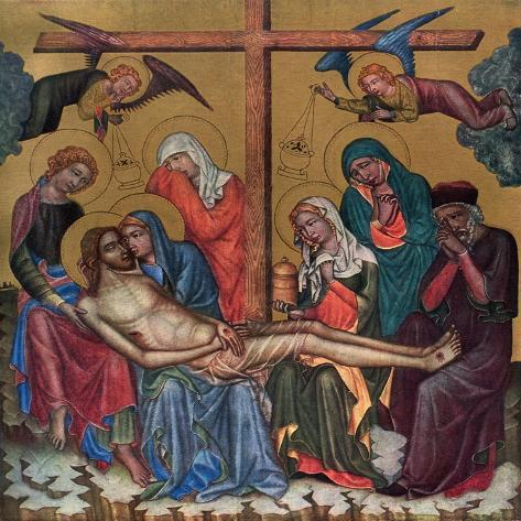 Lament for Christ, C1350 Stampa giclée