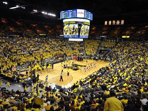 University of Michigan - Michigan Basketball in the Crisler Center Photo