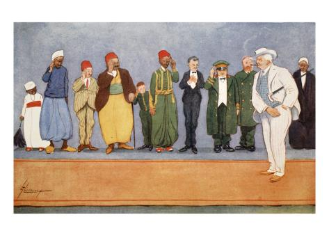 The Parting Guest, from 'The Light Side of Egypt', 1908 Giclee Print