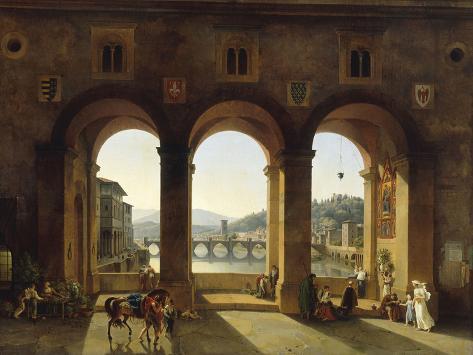Ponte Vecchio, c.1811 Giclee Print