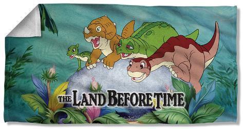 Land Before Time - Littlefoot & Friends Beach Towel Beach Towel
