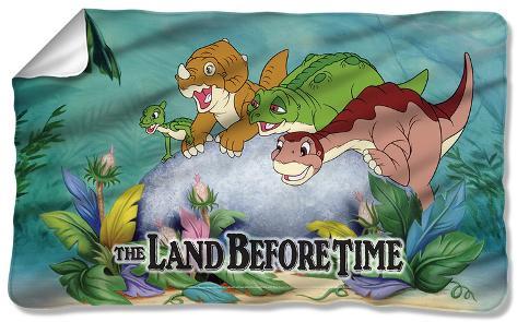 Land Before Time - Littlefoot & Friends Fleece Blanket Fleece Blanket