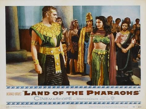 Land of the Pharaohs, 1955 Lámina