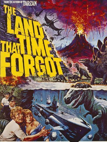 Land That Time Forgot (The) Art Print